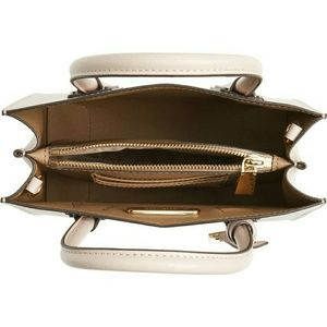 Michael Kors Bags - Michael Kors NWT Nude LOVE Mercer Saffiano Bag